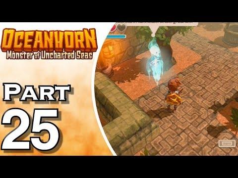 Let's Play Oceanhorn (Gameplay + Walkthrough) Part 25 - Island Of Whispers
