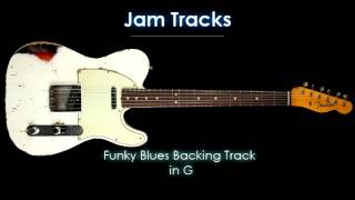 Funky Blues Backing Track in G - TheGuitarLab.net -