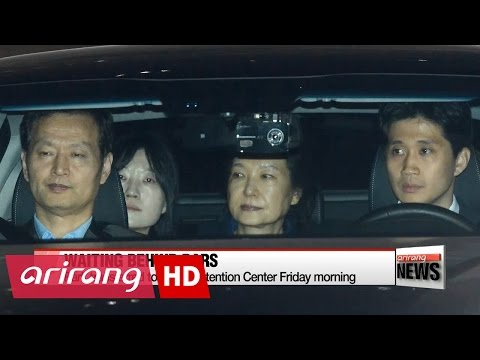 Park Geun-hye at detention center for up to 20 days during probe