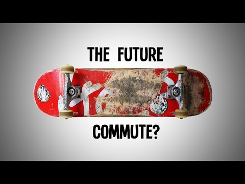 """Skateboarding Might Be the Future of the """"Last Mile Commute"""""""