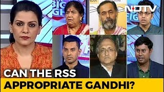 The Big Fight | Appropriating Mahatma Gandhi: Congress vs Sangh?