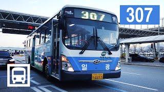 [4K] 부산 307번 시내버스 주행영상 Busan M…