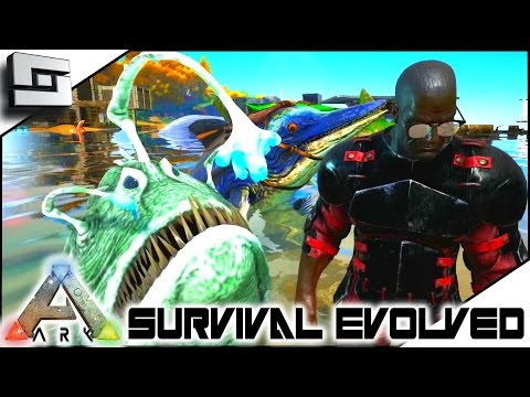 Ark survival evolved angler ichthy taming w mazion for Angler fish ark
