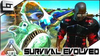 ARK: Survival Evolved - ANGLER & ICHTHY TAMING w/ MAZION! S2E74 ( Gameplay )
