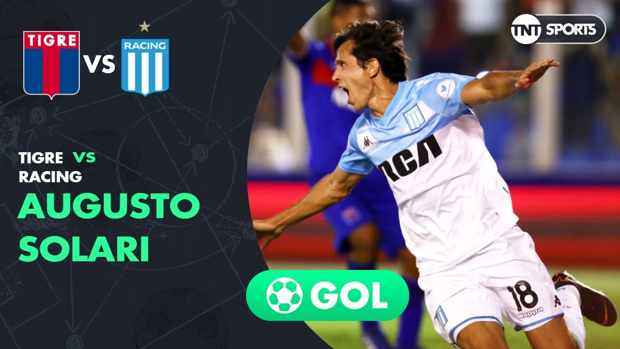Augusto Solari (0-1) Tigre vs Racing | Fecha 24 - Superliga Argentina 2018/2019
