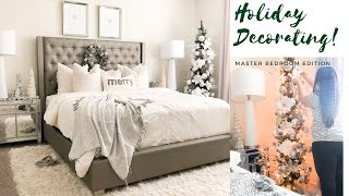 HOLIDAY DECORATING! | BEDROOM INSPIRATION