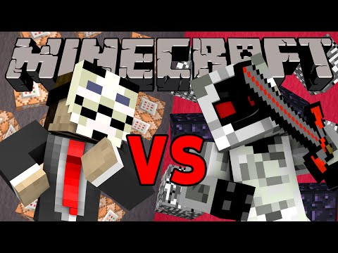 Hacker VS Entity 303 - Minecraft