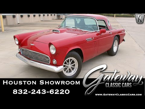 1956 Ford Thunderbird For Sale Gateway Classic Cars#1677 Houston Showroom