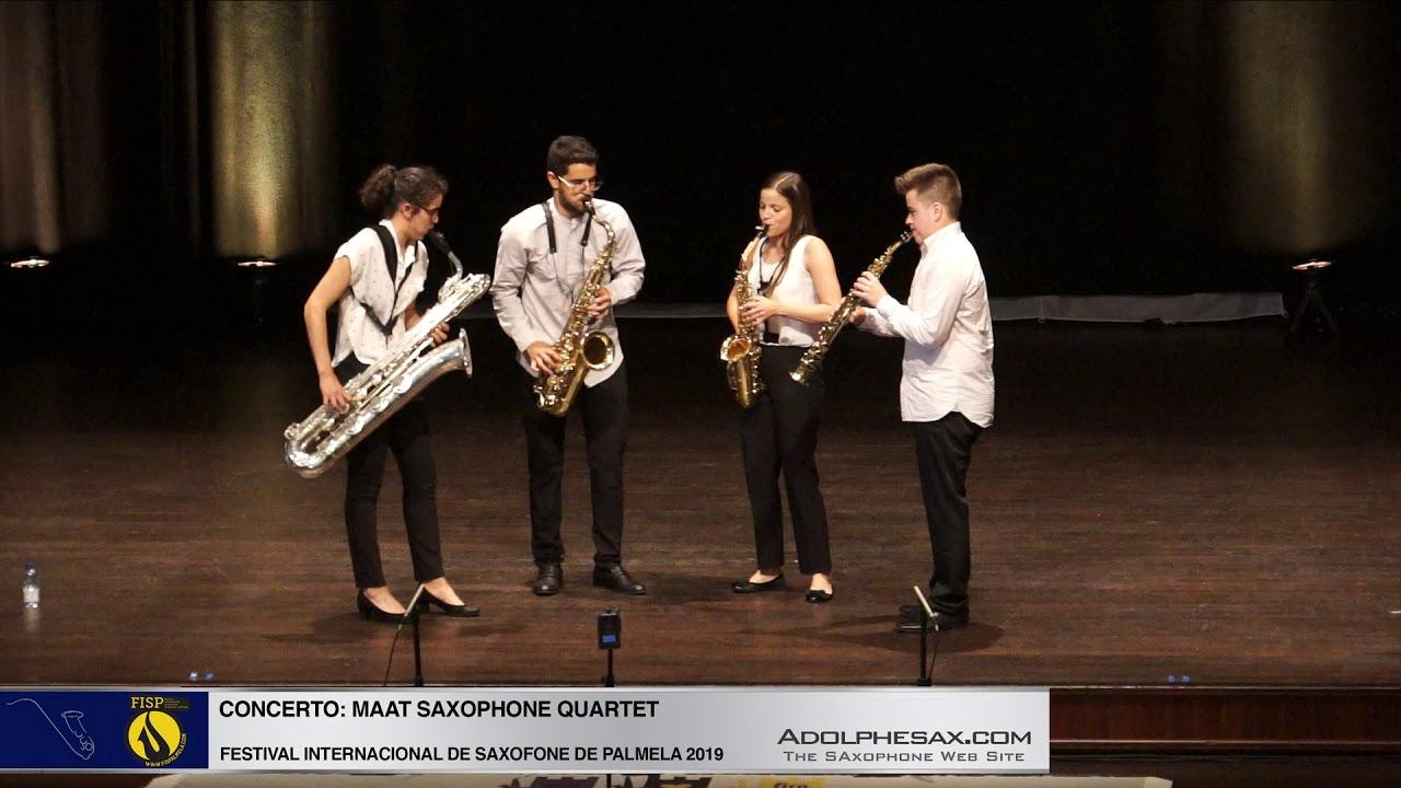 FISPalmela 2019  - Maat Sax Quartet - Reverie by Claude Debussy