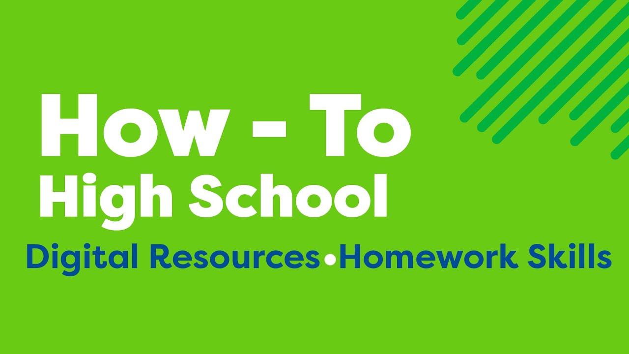 Secondary school homework helper