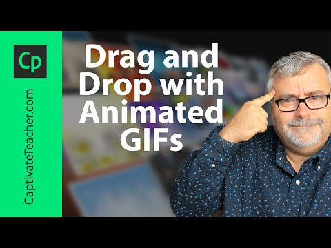 Customize Your Adobe Captivate Drag and Drop with Settings and Animated GIFs