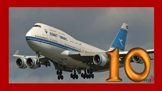 اسوء 10 حوادث طيران في التاريخ