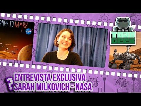 Entrevista exclusiva: Sarah Milkovich, NASA e água em Marte - Meio Bit