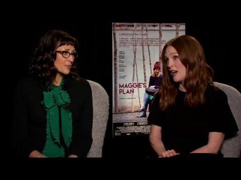 Julianne Moore and Rebecca Miller Talk Maggie's Plan