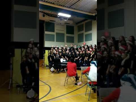Christmas Carols at Copeland Middle School