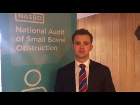James Glasbey on the National Audit of Small Bowel Obstruction