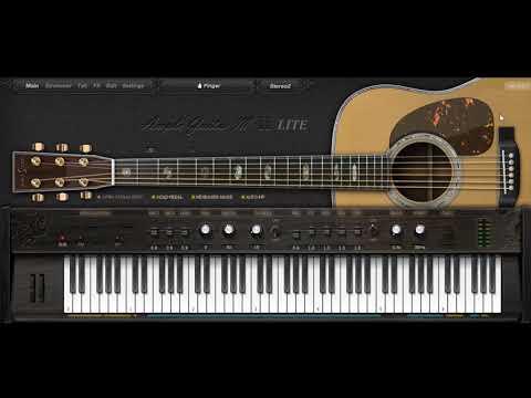 Realistic Guitar VST Plugin Free Download Ample Guitar M lite II