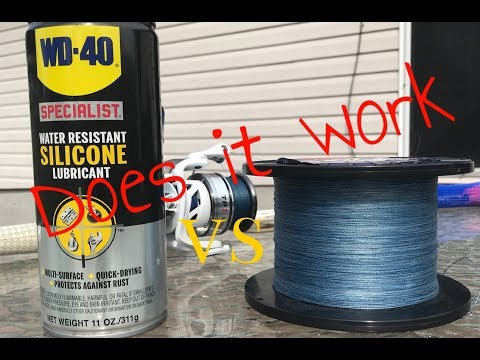 The Truth About WD-40 Silicone Spray Vs Braided Fishing Line