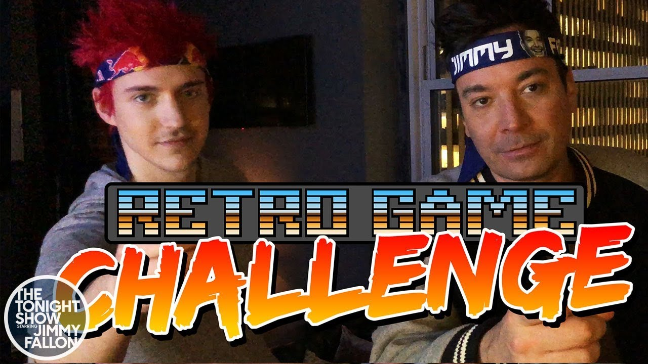 Ninja and Jimmy Take the Retro Game Challenge