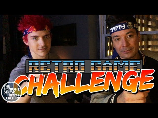 Ninja and Jimmy Take the Retro Game Challenge