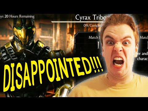 CYRAX CHALLENGE REVIEW In Mortal Kombat X Mobile. No Update For 3 More Weeks???