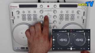 Vestax Spin 2 DJ Controller Walkthrough Demo