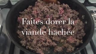 Légumes à la bolognaise- Recettes faciles et lights RFL