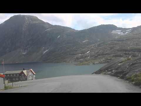 1500m Dalsnibba-Geiranger 2014 with bus beautiful view and nice nature