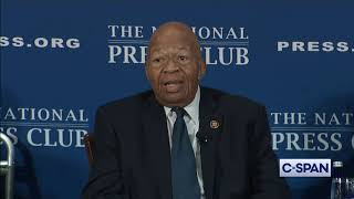 "Rep. Cummings: ""I want President Trump to come to my district."""