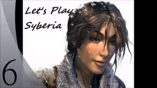 Let's Play Syberia (Blind) - Episode 6 - Getting Oscar's legs done, boarding the train