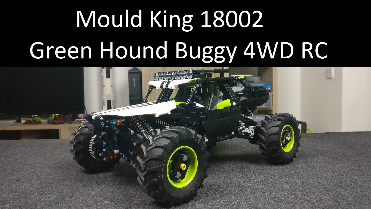Mould King 18002 Green Hound Buggy 4WD RC