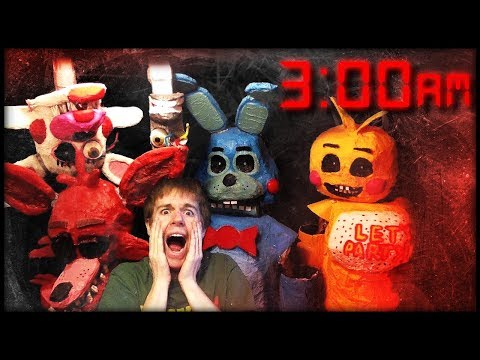FNAF 3AM CHALLENGE GONE WRONG