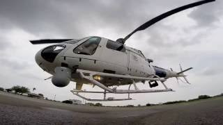 Cool Angle Spool Up & Take Off Eurocopter AS350 Gopro 1080p HD Video