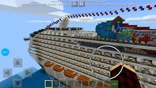 Рассматриваем две карты дом и корабль!!! Poly Майнкрафт
