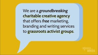 Miranda Writes / Free Creative Agency for Nonprofit Activist Groups