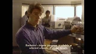 1998 ITT Tech Commercial (originally From 1992)