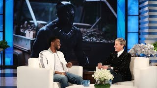 'Black Panther' Star Chadwick Boseman on Feeling Like the Mayor streaming