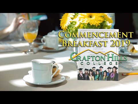 Crafton Hills College Commencement Breakfast 2019