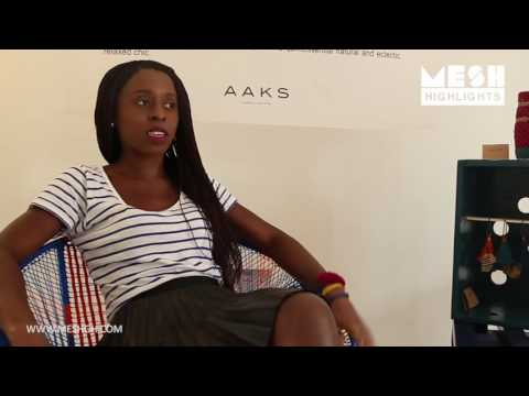 AAKS handcrafted bags pop up store in Accra