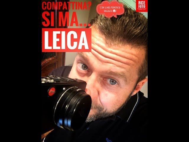 Alessandro Chiolo - Trailer Compattina  Sì ma Leica