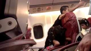 Kids in Kingfisher airlines