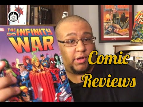 Infinity War TPB and other Comic Reviews