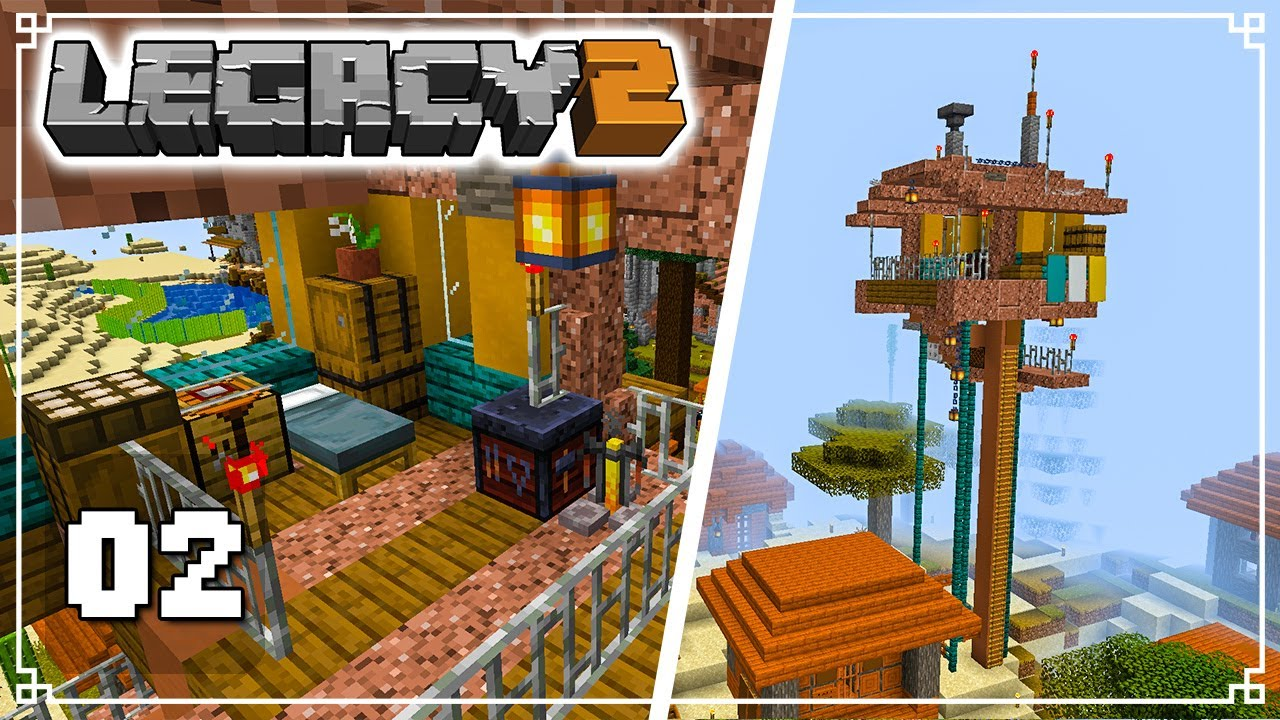 KEEPING WATCH - Legacy SMP 2: Episode 2 (Minecraft 1.16 Survival Multiplayer)