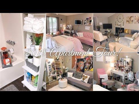 Finally! My 2018 Apartment Tour!! | In-Depth + Online Decor Links | North Carolina 2 Bed, 2 Bath