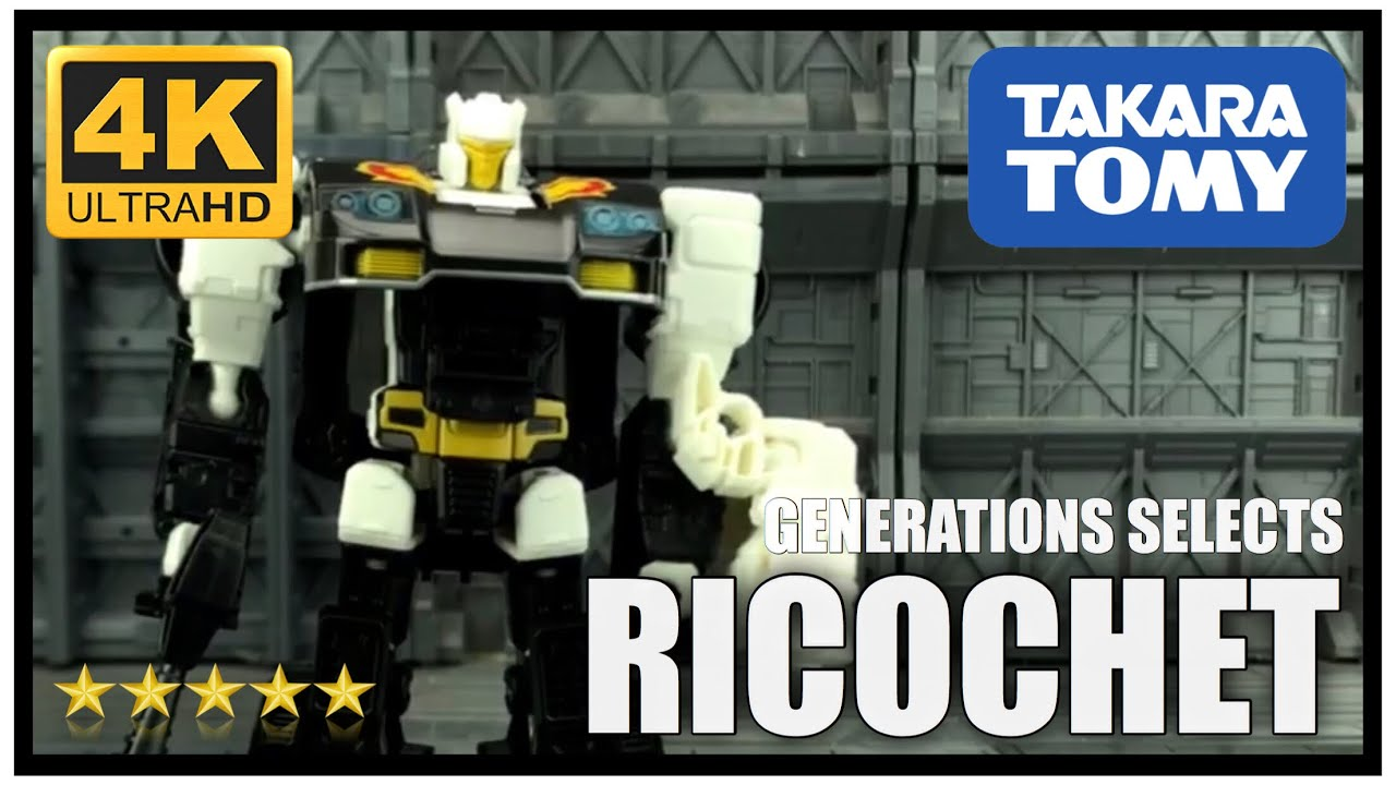 """Transformers Generations Selects ~ RICOCHET AKA /""""STEPPER/"""" FIGURE ~ Deluxe Class"""