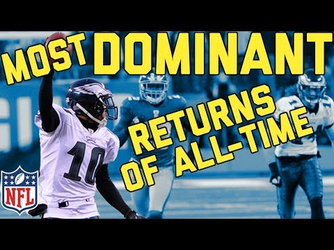The Most Dominating Kick and Punt Returns for TDs of All-Time   NFL Highlights