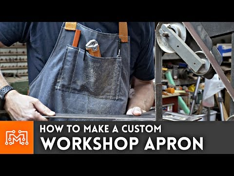 How to make a Custom Shop Apron