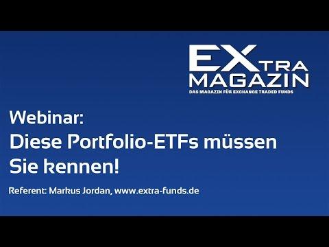 Webinar: Diese Portfolio-ETFs müssen Sie kennen!