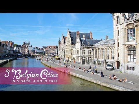 Belgium Solo Trip: 3 Cities in 5 Days
