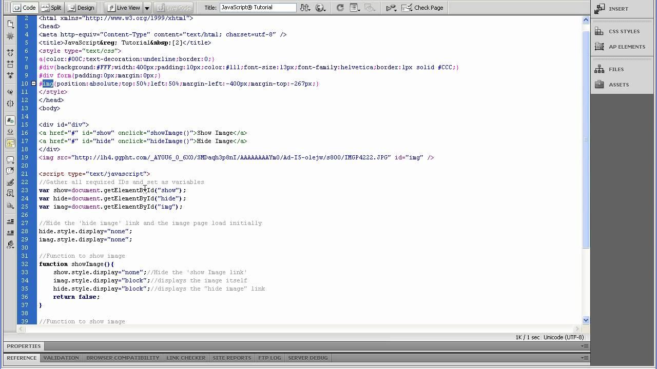 JavaScript Image Display [2]